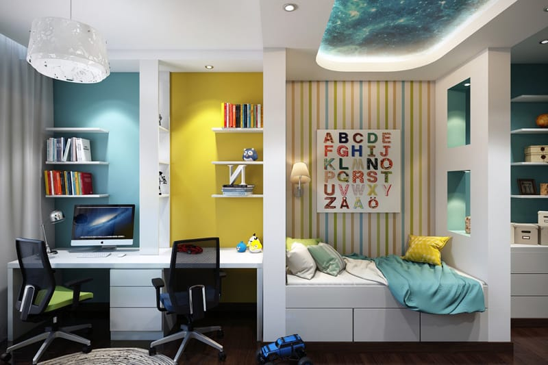 designrulz-Colorful Bedroom Ideas for Kids (12)