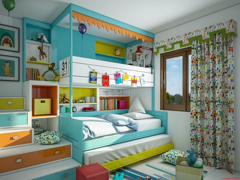 designrulz-Colorful Bedroom Ideas for Kids (16)
