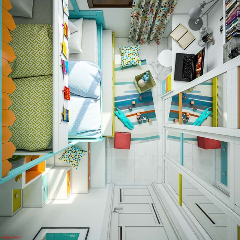 designrulz-Colorful Bedroom Ideas for Kids (19)