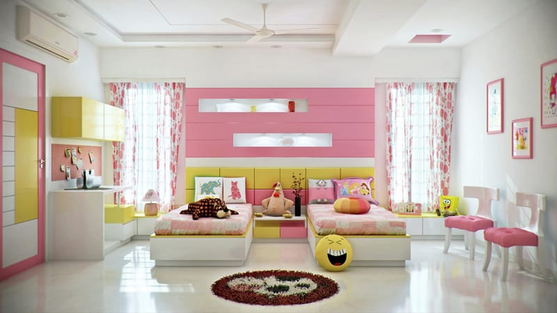 35 Colorful and Modern Kid\'s Bedroom Design Ideas