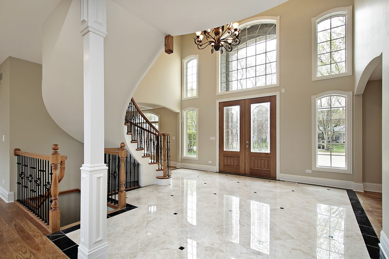 Large Tile Foyer : Luxurious grand foyers for your elegant home