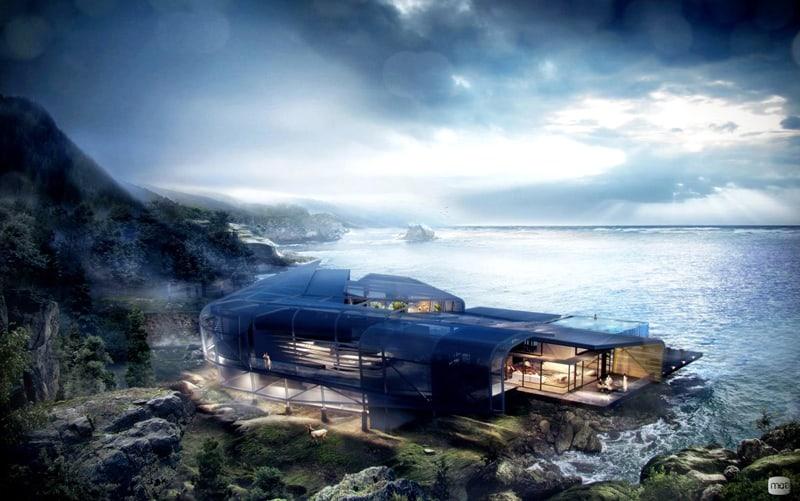 futuristic-glass-house