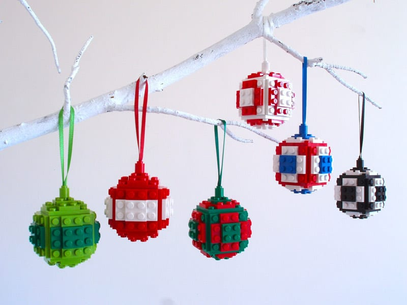 Make your own lego christmas ornaments and impress your Make your own christmas bunting