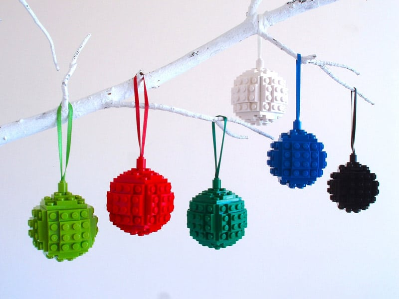 Make Your Own Lego Christmas Ornaments And Impress Your