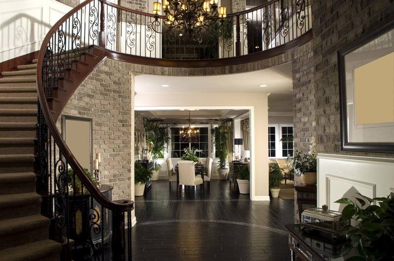 Beautiful Mansion Foyers : Luxurious grand foyers for your elegant home