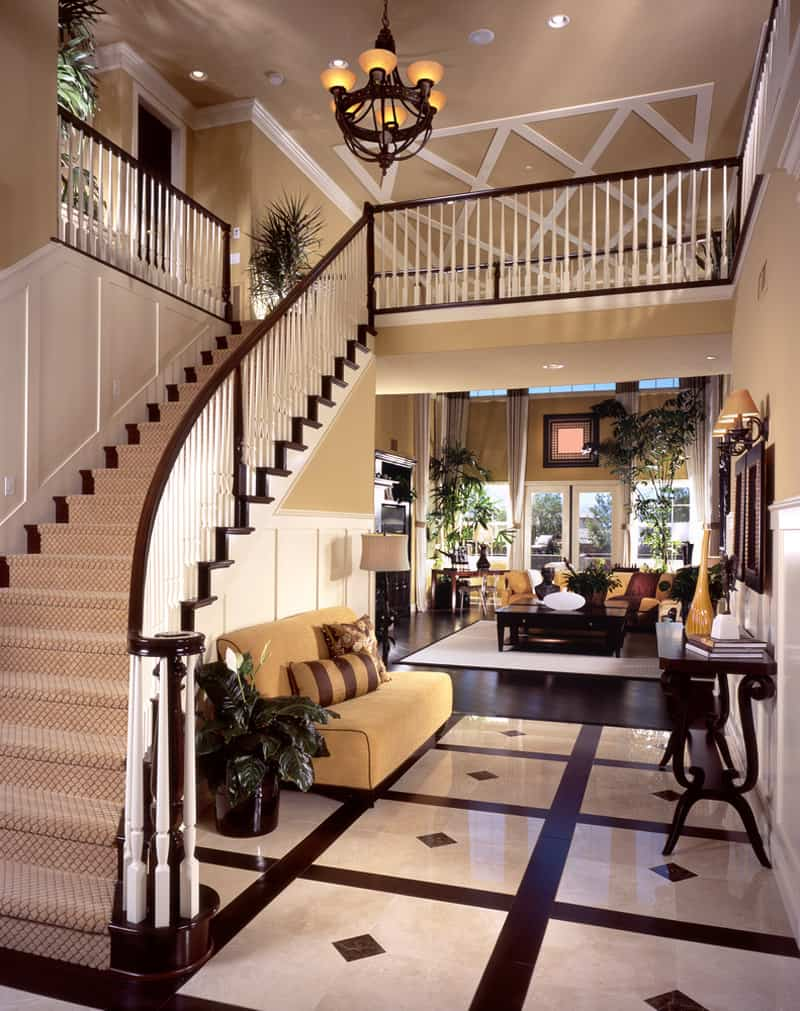 A Grand Foyer : Luxurious grand foyers for your elegant home
