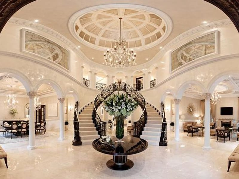 Grand Foyer Lighting : Luxurious grand foyers for your elegant home