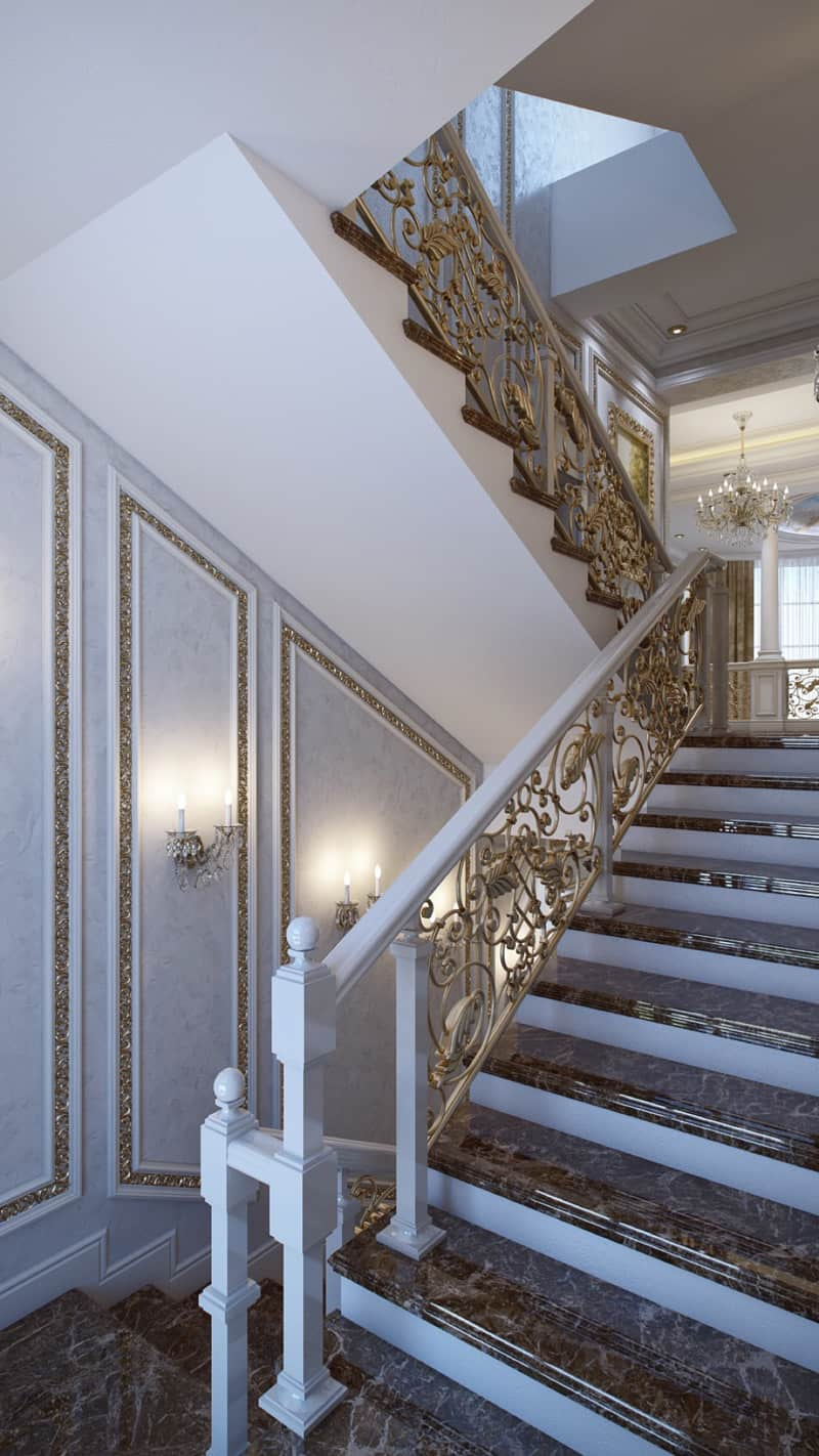 5 luxurious interiors that will fascinate you for Luxury staircase