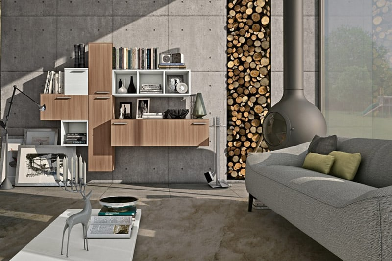 furniture living wall rooms for room units a
