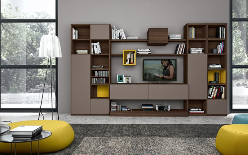 30 Modern Living Room Wall Units Ideas That Everyone ...