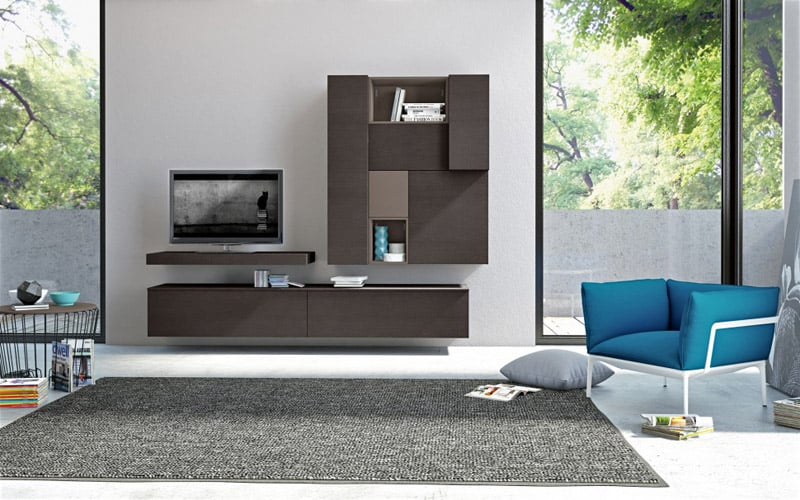 30 modern living room wall units ideas that everyone should pursue. Black Bedroom Furniture Sets. Home Design Ideas