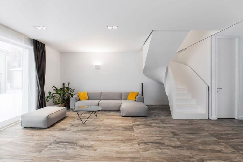 Semi-detached House with Minimalist Interior Design in Vilnius ...