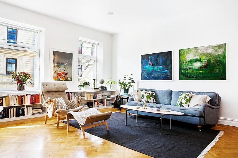 Cozy Scandinavian Apartment Inspiring Joyful Home Decorating Ideas
