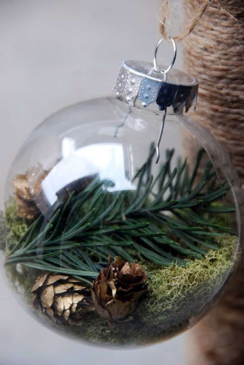 Nature Ornaments For Christmas Tree