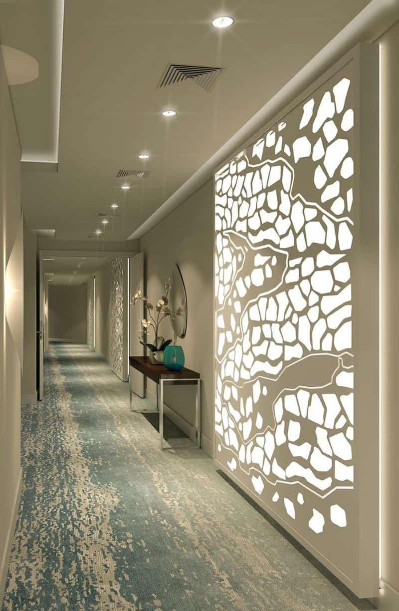20 long corridor design ideas perfect for hotels and for Raumgestaltung virtuell