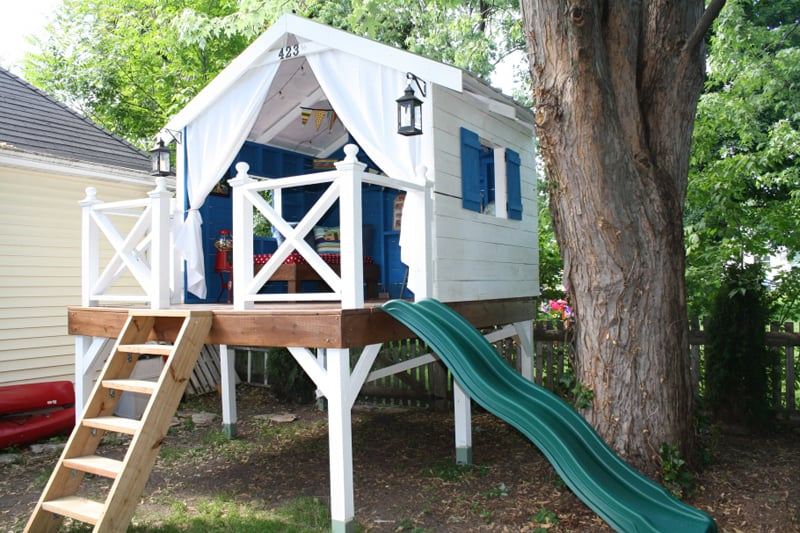 Do It Yourself Home Design: How To Build A Treehouse In The Backyard