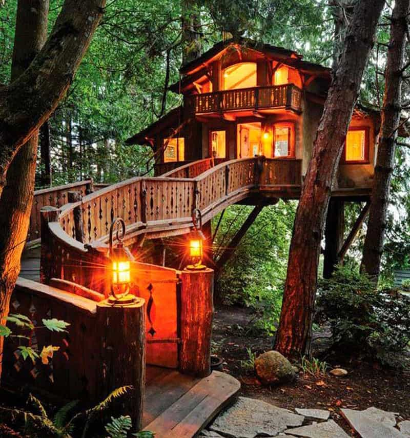 Treehouse In The Backyard DESIGNRULZ (2)