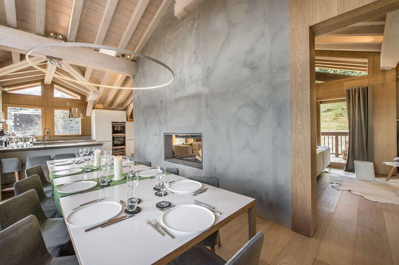 Chalet Kibo- A Magnificent Modern Chalet Designed by Angelique Buisson