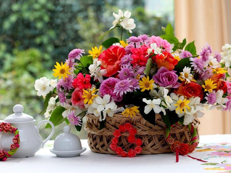 Супер красивые букеты цветов фото