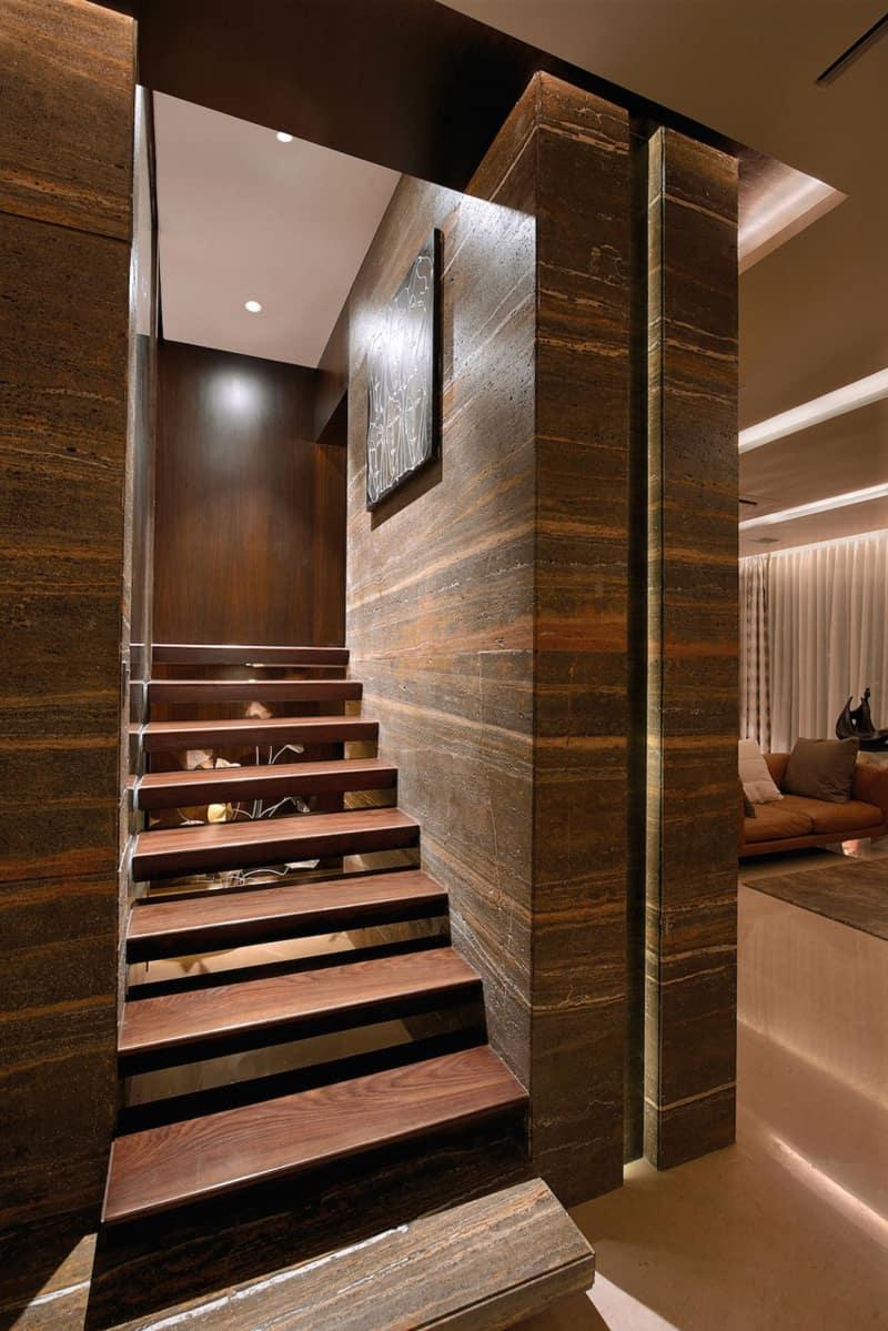 Luxury Living A Duplex Apartment In Mumbai India
