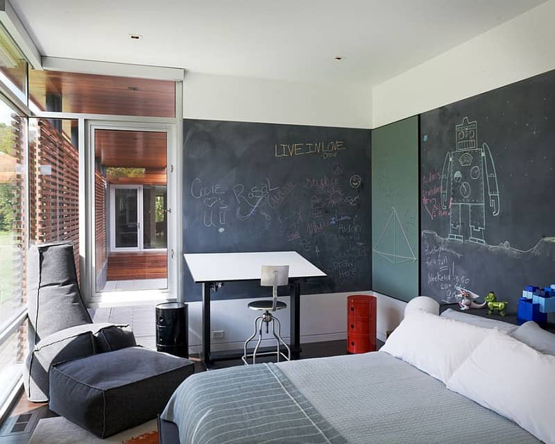 Creative Bedrooms with Chalkboards-DESIGNRULZ (14)