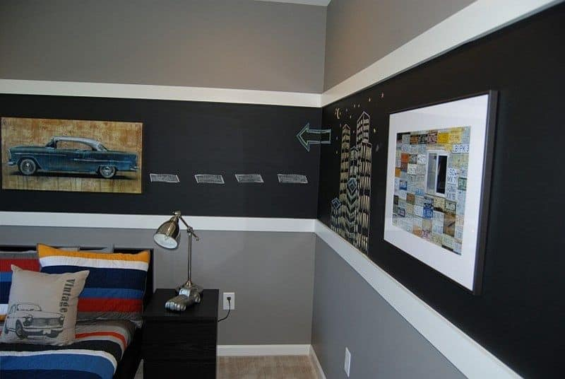 Creative Bedrooms with Chalkboards-DESIGNRULZ (23)