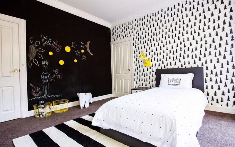 Creative Bedrooms With Chalkboards DESIGNRULZ (26)