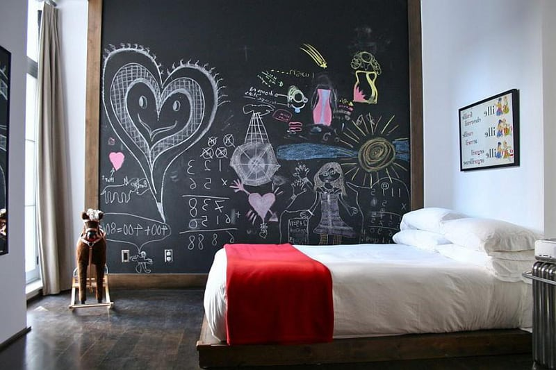 Creative Bedrooms with Chalkboards-DESIGNRULZ (27)
