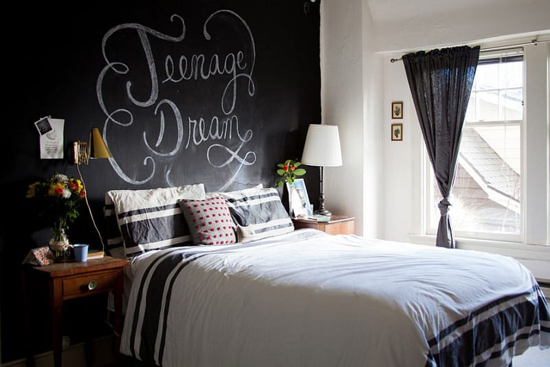 Creative Bedrooms with Chalkboards-DESIGNRULZ (29)