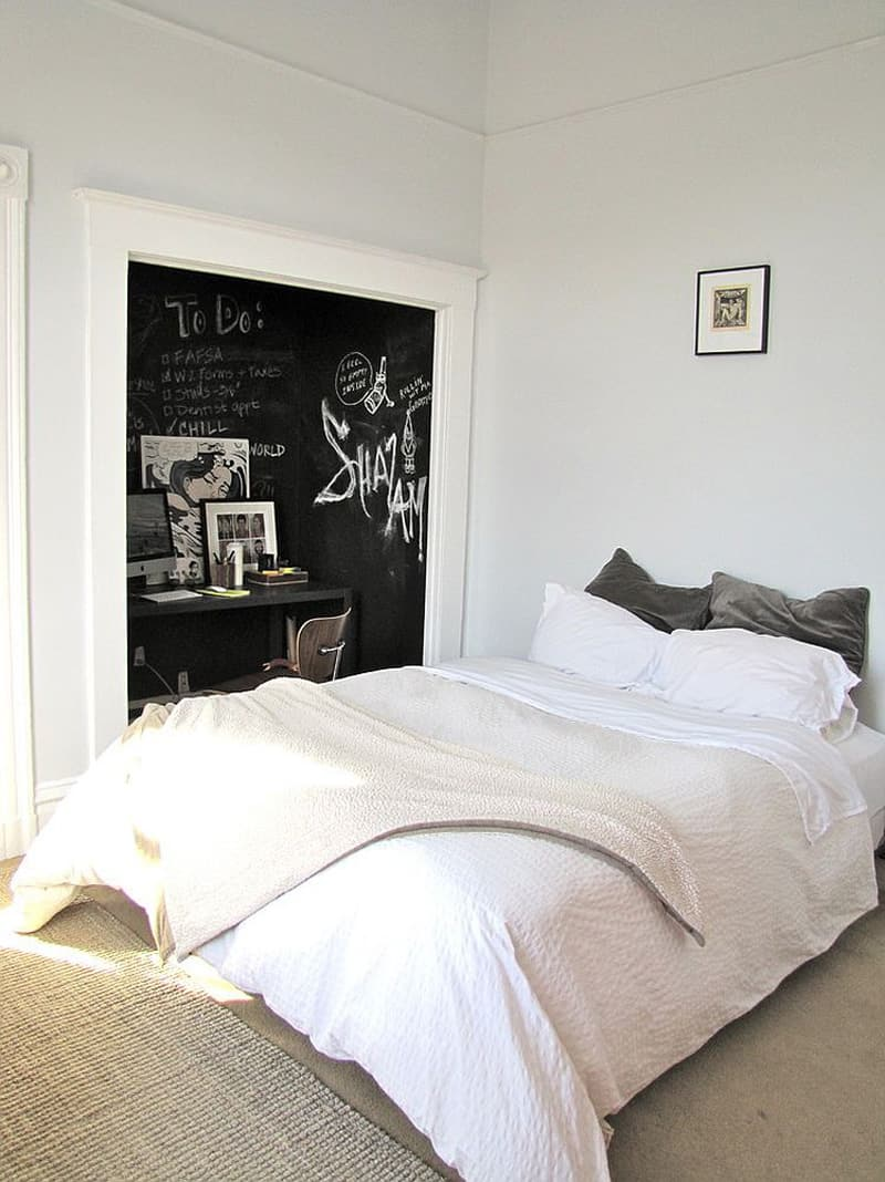 Creative Bedrooms with Chalkboards-DESIGNRULZ (3)