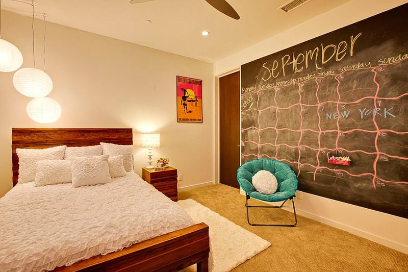 Creative Bedrooms with Chalkboards-DESIGNRULZ (32)