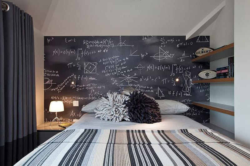 Creative Bedrooms with Chalkboards-DESIGNRULZ (33)