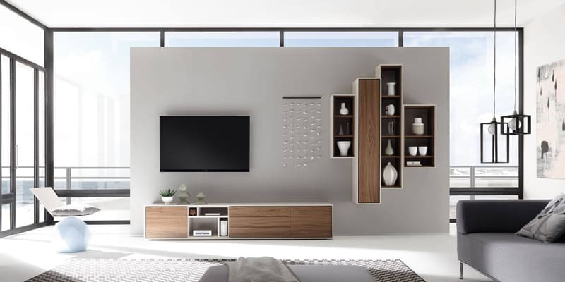 Modern Floating Shelves- Scopia Collection