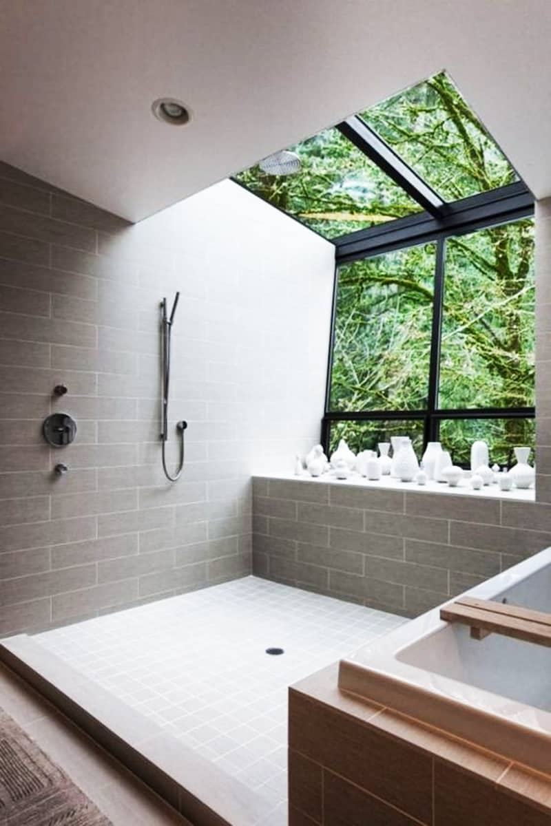 Skylight Bathroom Designrulz 13