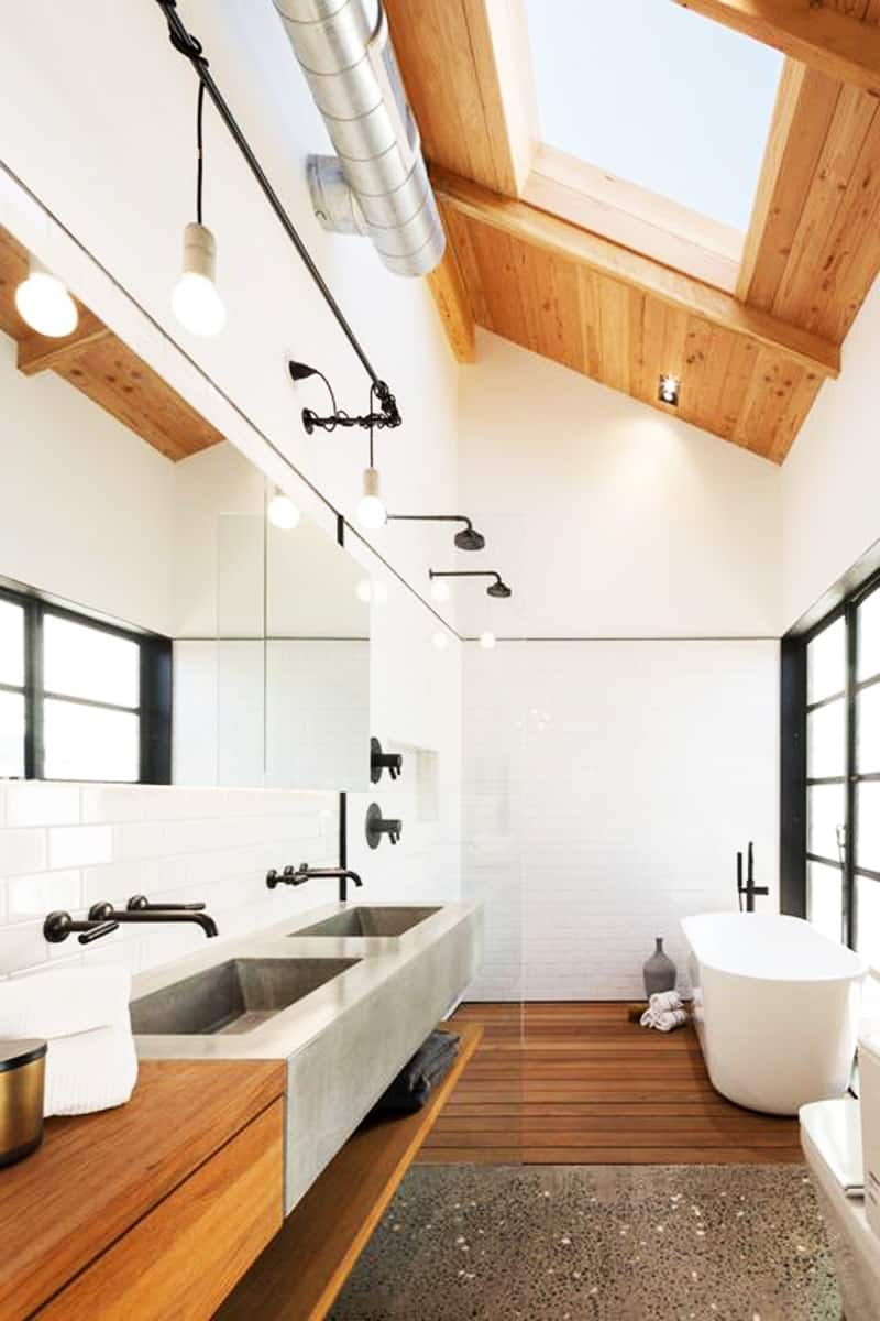 skylight bathroom designrulz (18)
