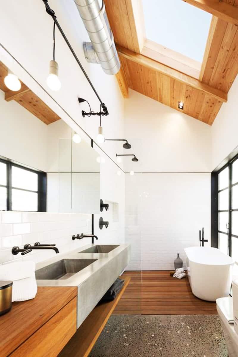 50 luxury bathrooms with skylights - Mobiles badezimmer ...