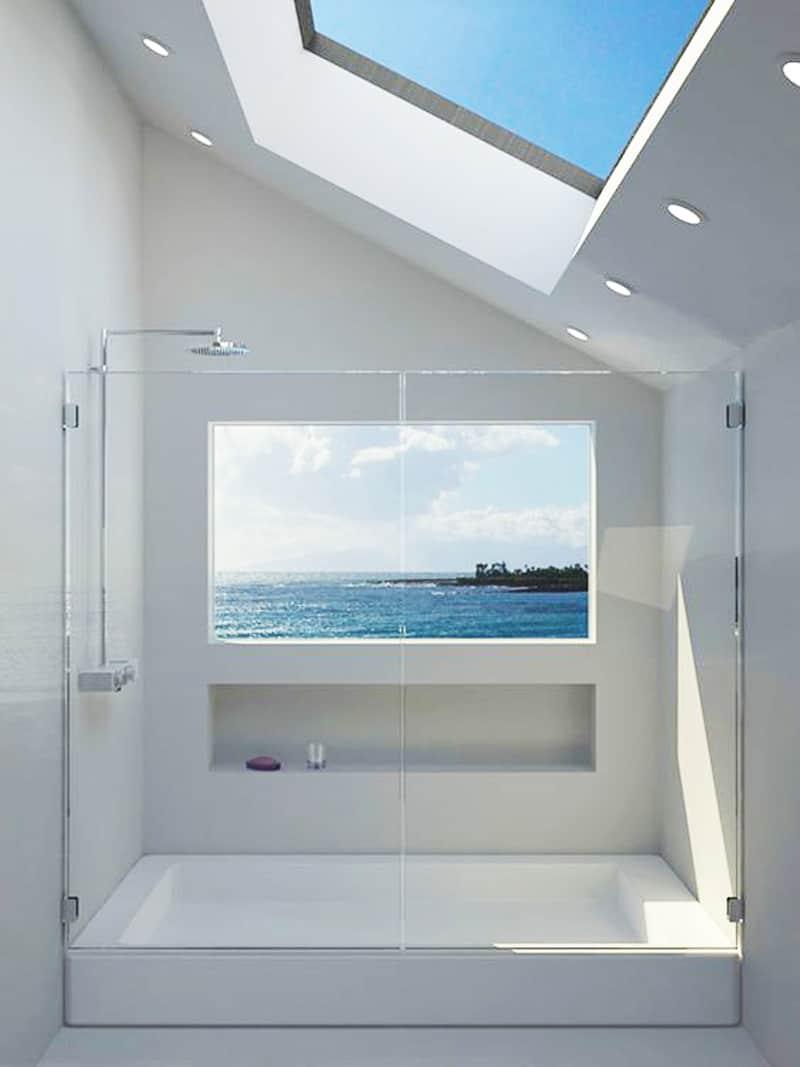 ... Skylight Bathroom Designrulz (2) ...