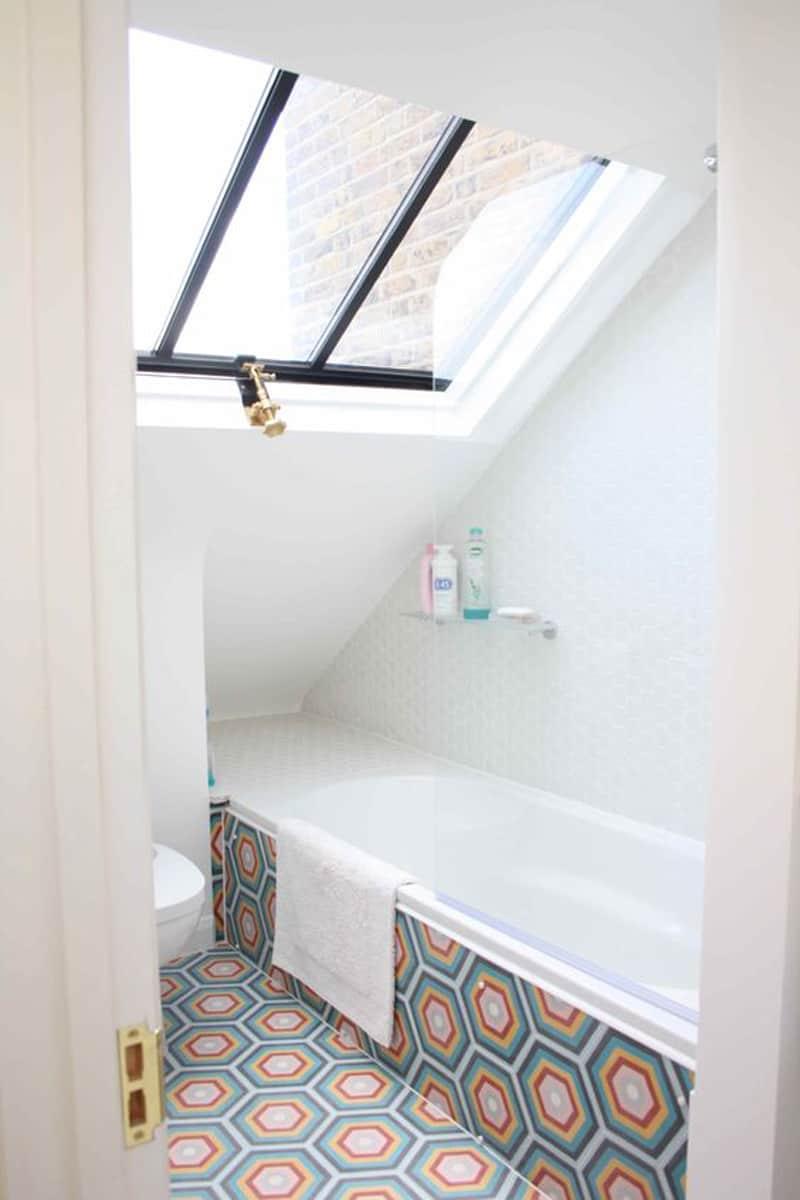 skylight bathroom designrulz (3)