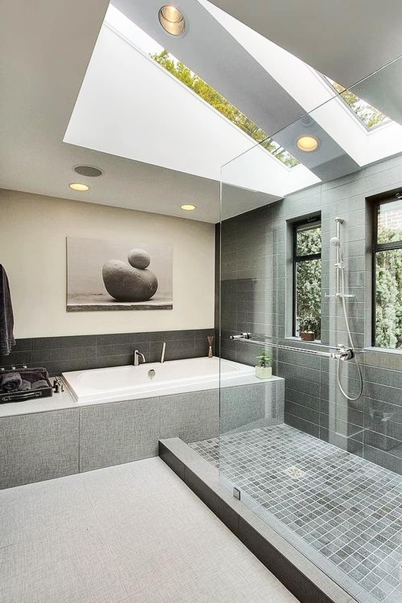 skylight bathroom designrulz (8)