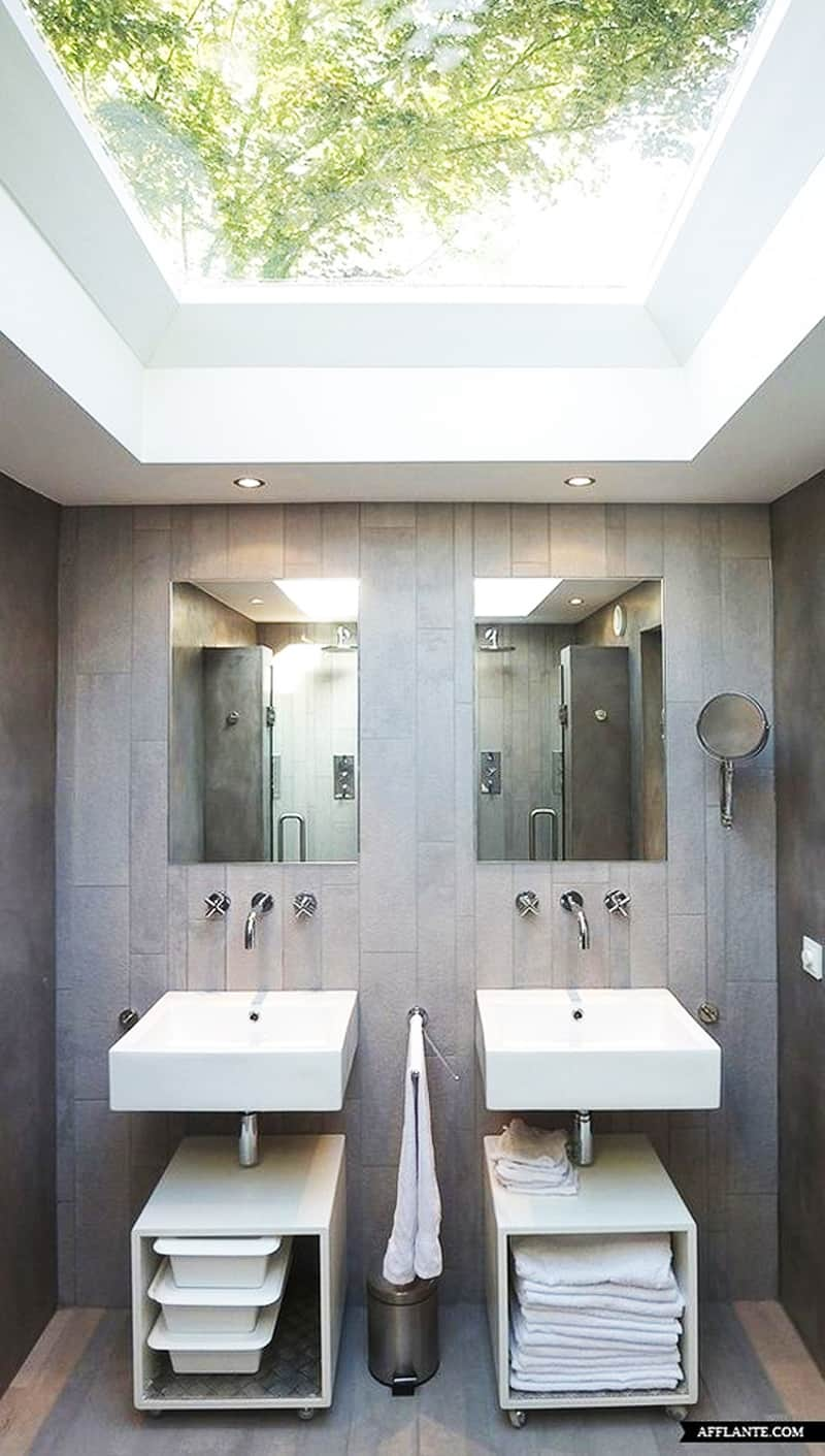 skylight bathroom designrulz (9)