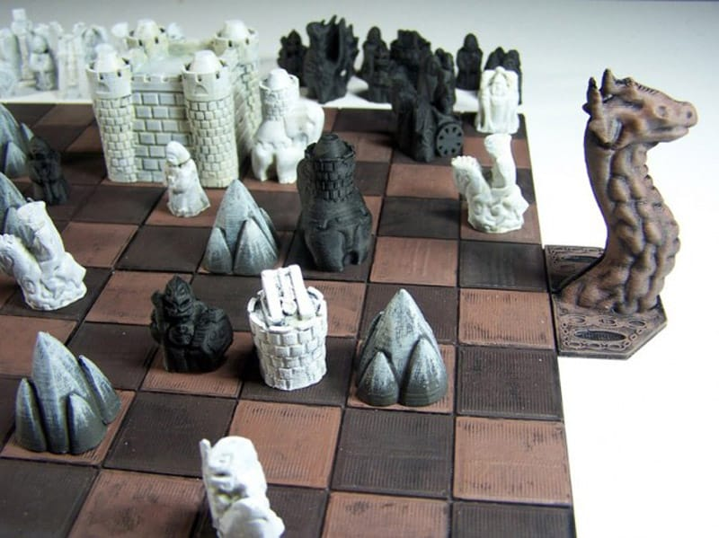 3D Printed Game of Thrones Board Game