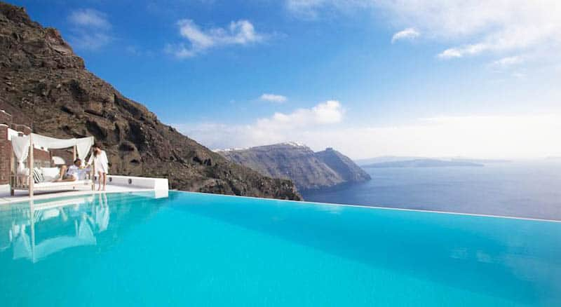 10 best hotel infinity pools in santorini - Santorini infinity pool ...