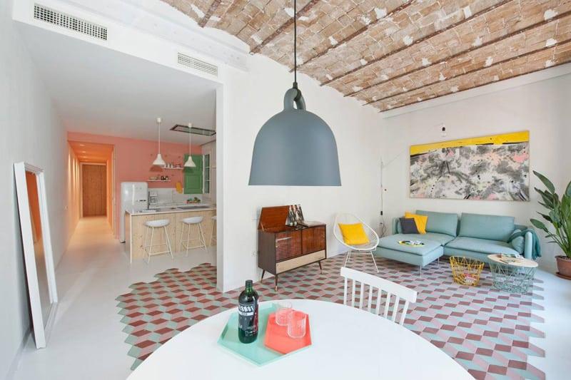Tyche Apartment, Barcelona, Spain designrulz (10)