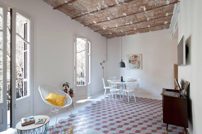 Tyche Apartment, Barcelona, Spain designrulz (6)