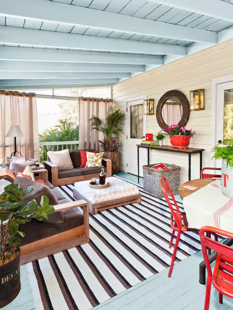 30 Cool Sea And Beach Inspired Patios