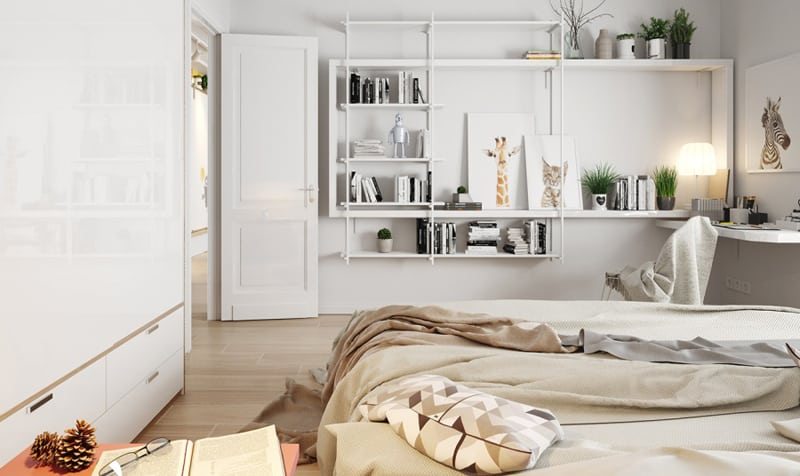 Bright interiors that show off the beauty of nordic for Bett scandinavian design
