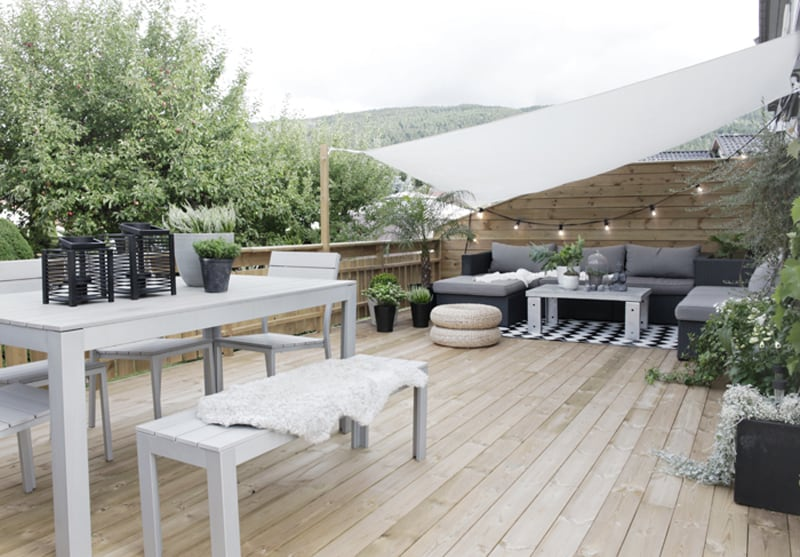 scandinavian garden and patio designs ideas for your backyard