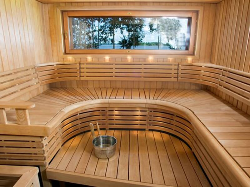 35 Spectacular Sauna Designs For Your Home