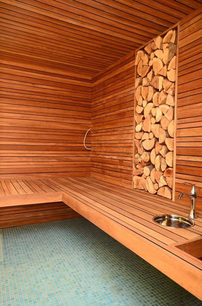 Room Construction Design: 35 Spectacular Sauna Designs For Your Home