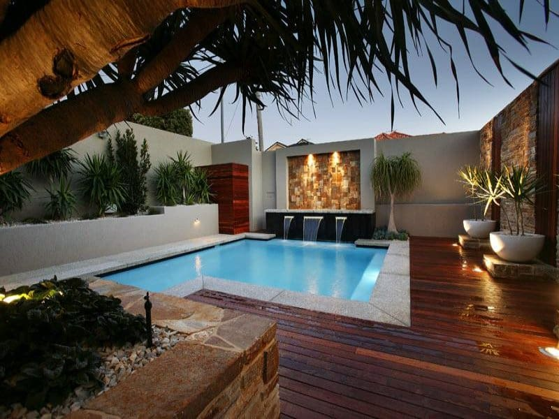 30 beautiful swimming pool lighting ideas for Pool design images